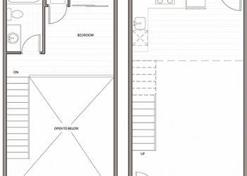 Live/Work Loft, 1 Bedroom, 1 Bathroom 650 sq ft.